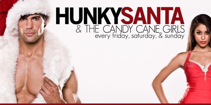 Hunky santa