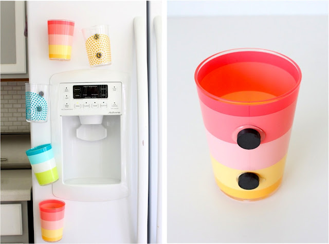 Diy fridge cups