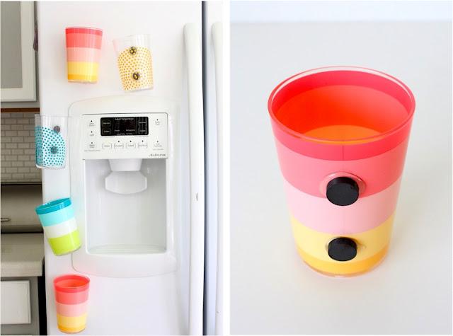 Diy fridge cups