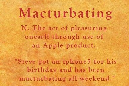 Macturbating