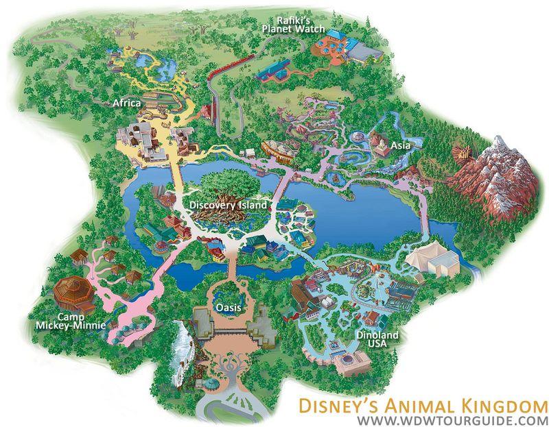 DisneysAnimalKingdomMap